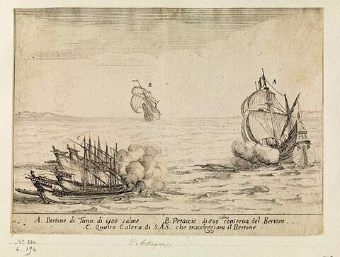 Combat des Quatre Galères du Grand Duc : L'Attaque