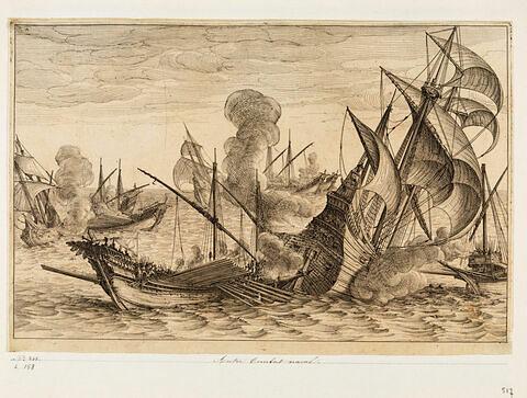 Principaux faits du règne de Ferdinand Ier, Grand Duc de Toscane : Combat naval
