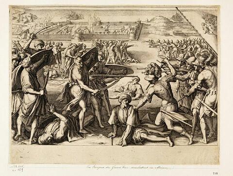 Principaux faits du règne de Ferdinand Ier, Grand Duc de Toscane : Les troupes du Grand-Duc combattent en Afrique
