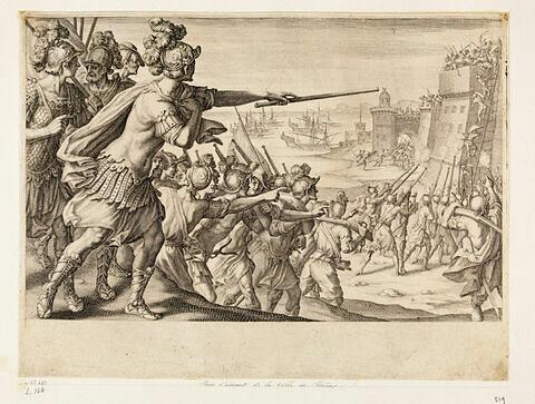 Principaux faits du règne de Ferdinand Ier, Grand Duc de Toscane : Prise d'assaut de la ville de Bône