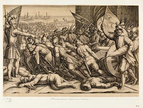 Principaux faits du règne de Ferdinand Ier, Grand Duc de Toscane : Rembarquement après une victoire