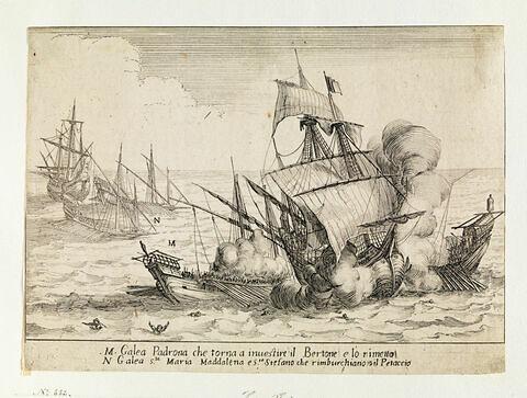 Combat des Quatre Galères du Grand Duc : La Prise