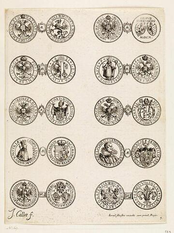 Monnaies. 3ème planche