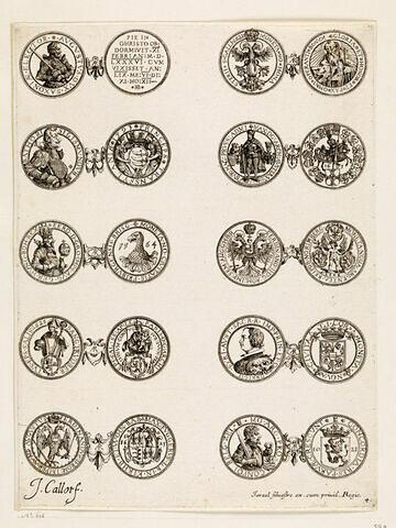 Monnaies. 4ème planche