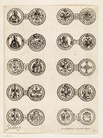 Monnaies. 6ème planche