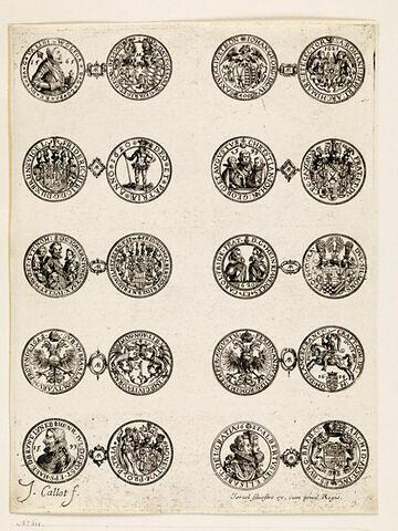 Monnaies. 7 ème planche