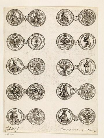 Monnaies. 9ème planche