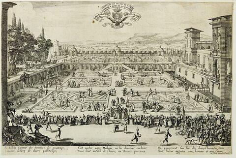Le parterre du Palais de Nancy