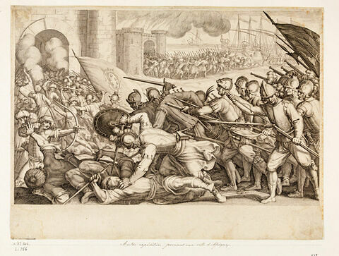 Principaux faits du règne de Ferdinand Ier, Grand Duc de Toscane : Autre expédition prenant une ville d'Afrique