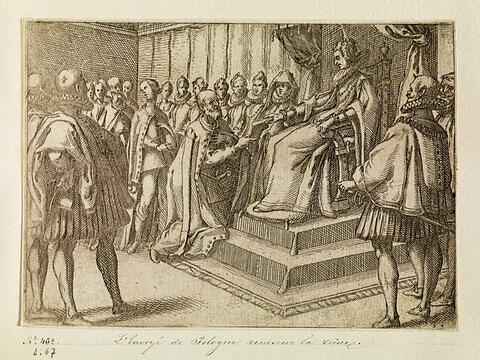 Pompe funèbre de la Reine d'Espagne : L'envoyé de Pologne remercie la reine