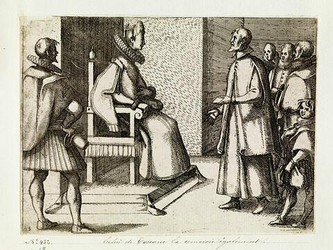 Pompe funèbre de la Reine d'Espagne : L'envoyé de Toscane remercie la reine