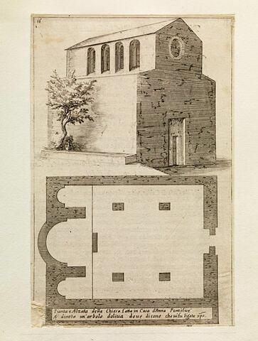 Figures du Voyage en Terre Sainte. Eglise chez le pontife Anne
