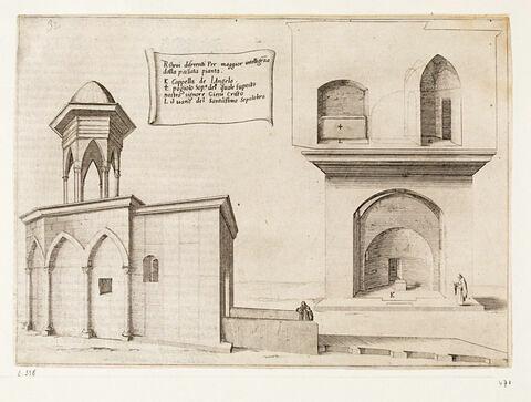 Figures du Voyage en Terre Sainte. Elévation de la Basilique du Saint Sépulcre