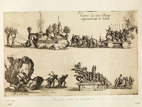 Combat à la Barrière : Première entrée du duc Charles IV