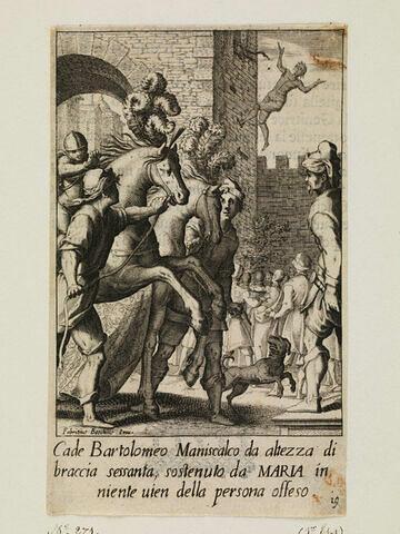 Bartolomeo, maréchal ferrant