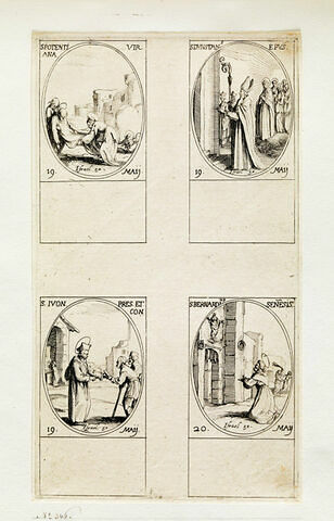 Sainte Potentienne; Saint Dustan; Saint Yves; Saint Bernardin