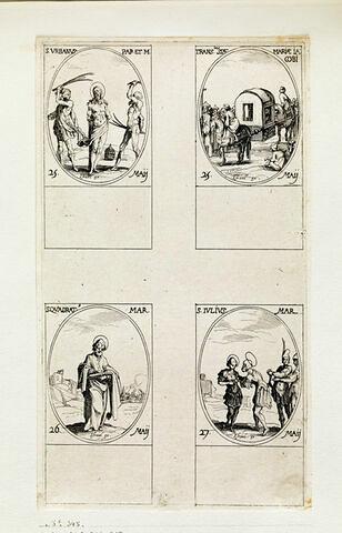 Saint Urbain; La translation de sainte Marie, mère de saint Jacques; Saint Quadrat; Saint Jules