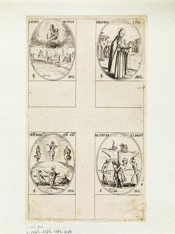 Sainte Marie des Neiges; Saint Memmie; La Transfiguration de Notre Seigneur; Saint Juste et Saint Pastor