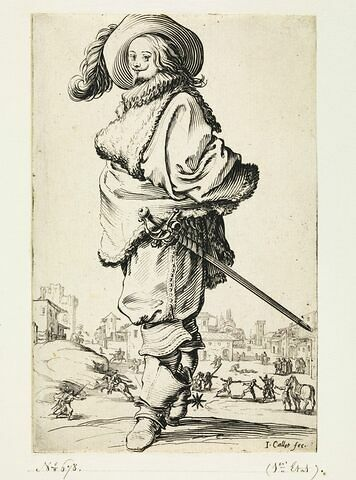 La Noblesse : Le jeune gentilhomme à l'épée