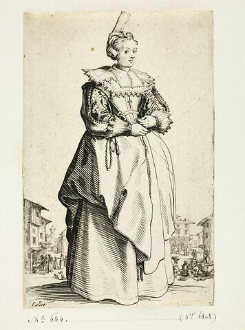 La Noblesse : La dame à la petite coiffe
