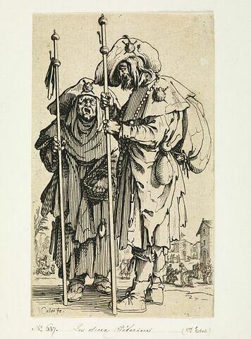 Les Gueux ou Mendiants : Les deux pélerins