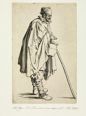 Les Gueux ou Mendiants : Le Mendiant au couvet