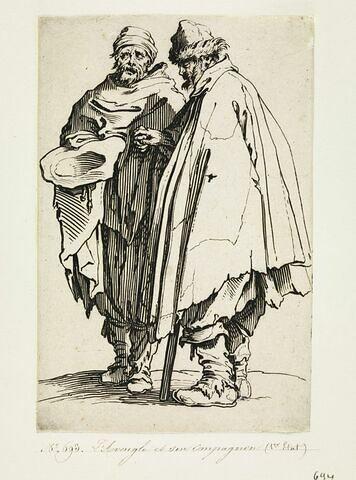 Les Gueux ou Mendiants : L'Aveugle et son compagnon