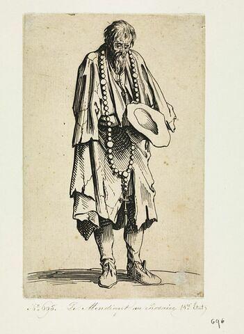 Les Gueux ou Mendiants : Le Mendiant au Rosaire