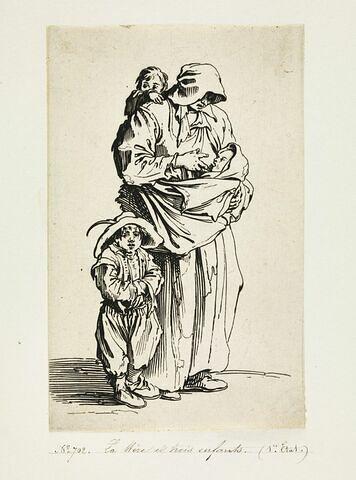 Les Gueux ou Mendiants : La Mère et trois enfants