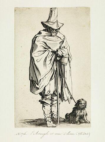 Les Gueux ou Mendiants : L'Aveugle et son chien