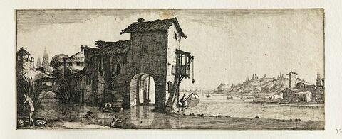 Les quatre paysages : Le Moulin à eau