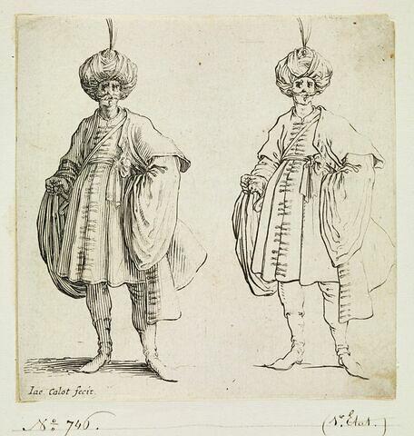 Varie Figure : Figure de turc avec turban