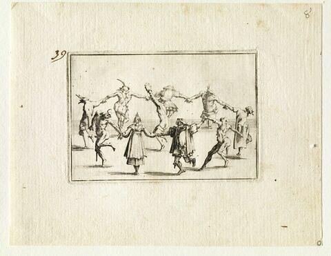 Les Caprices : dix personnages de la commedia dell'arte