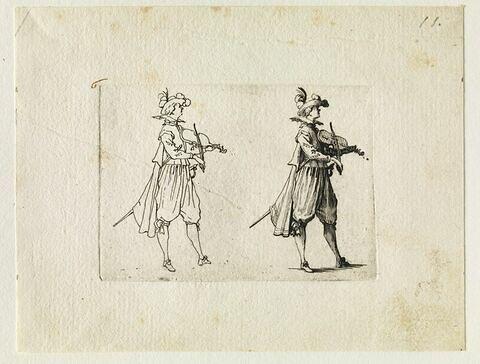 Les Caprices : Le joueur de violon