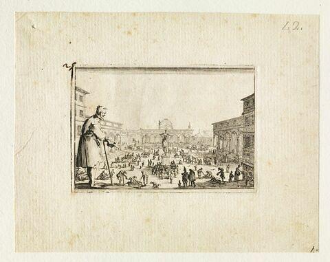 Les Caprices  : Le marché de la place de l'Annunziata à Florence