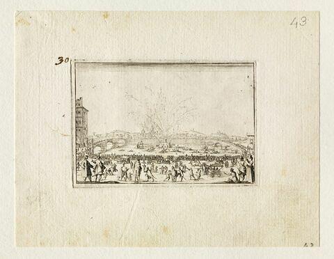 Les Caprices : Feu d'artifice sur l'Arno