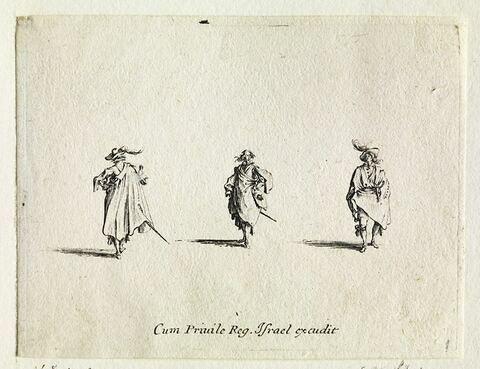 Les Fantaisies : Les trois gentilshommes
