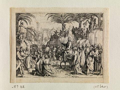 L'Entrée de Jésus -Christ à Jérusalem