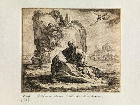 Saint Jean dans l'Ile de Pathmos