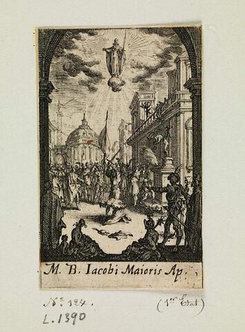 Le martyre de saint Jacques le Majeur