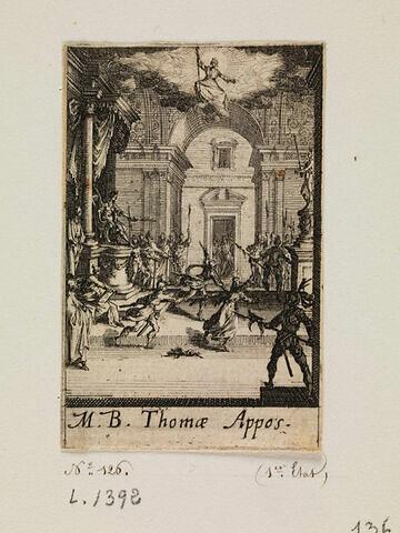Le martyre de saint Thomas