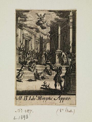 Le martyre de saint Jacques le Mineur