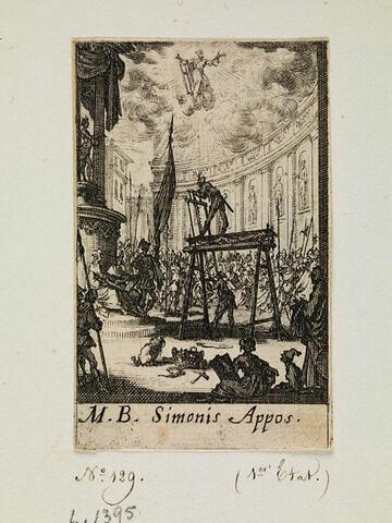 Le martyre de saint Simon