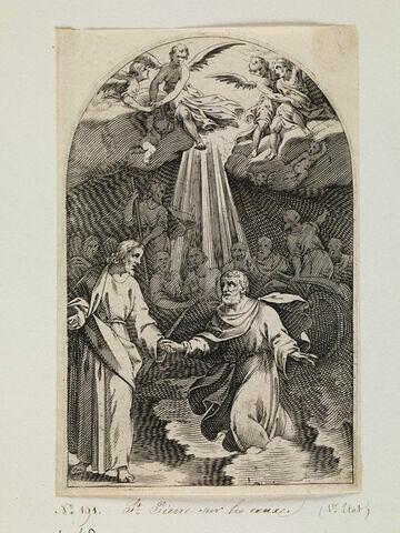 Saint Pierre et Jésus sur les eaux