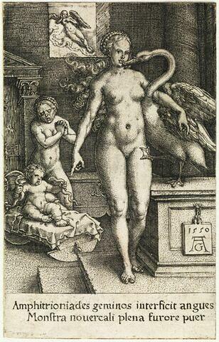 Léda et le cygne et Hercule enfant