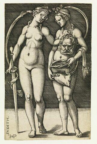 Judith et sa servante avec la tête Holopherne