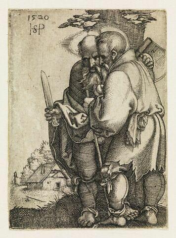 Saint Barthélemy et saint Mathias