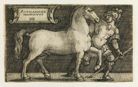 Alexandre le Grand avec Bucéphale