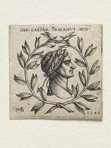 Buste de l'empereur Trajan