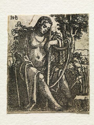 Jeune fille à la harpe